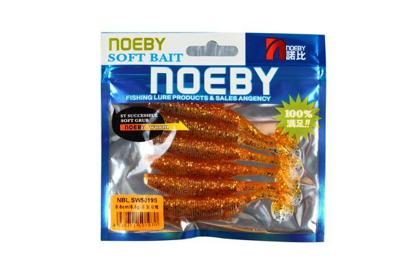 NOEBY jerkbait soft plastic custom artificial saltwater lures