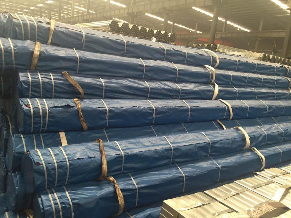 Hot-dipped Galvanized Steel Pipes for Fence Poles