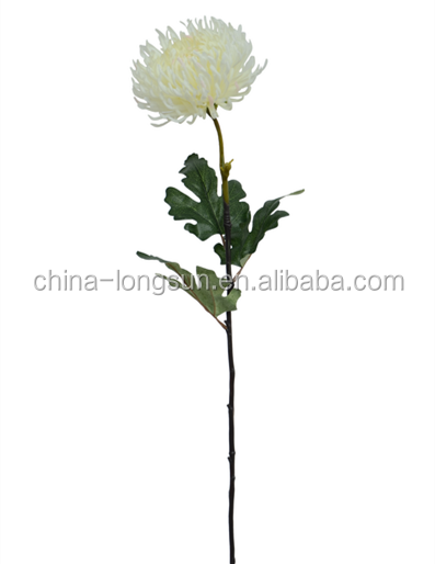 LSD-1611231889 artificial flower heads artificial mum flowers with foam flower making supplies
