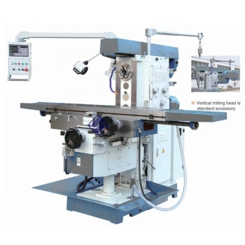 XL6036C 5.5kw Universal horizontal vertical metal milling machine