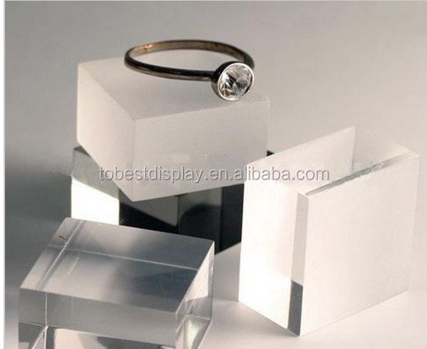 Custom High Quality Smooth Acrylic Cube Acrylic Resin