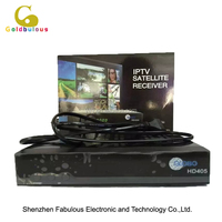 mini hd receiver dvb-s2 free to air DVB set top box free iptv channel digital iks satellite tv receiver