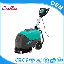 Industrial manual floor water scrubber
