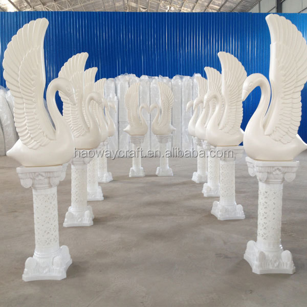 Wedding pillar decorations flower wedding cheap stage decorative pillar