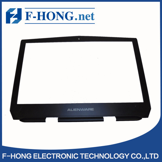"Genuine New15.6"" LCD Front Trim Cover Bezel for Dell Alienware 15 R1 R2 With WebCam Port P5FXG 0P5FXG"