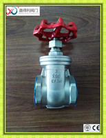 Gate valve thread CF8 gate valve