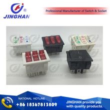 6A/10A/15A T85 SPST light rocker switch KCD1