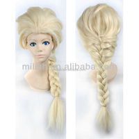 Frozen Snow Queen Elsa Cosplay Costume Wig MCW-0105