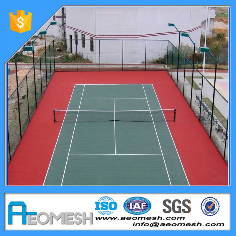 Made in Guangzhou Cheap Price PVC Fence Basket Ball Tennis Used Chain Link Fencing