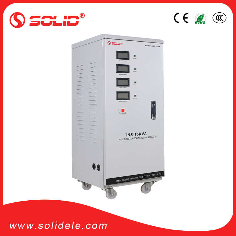 Solid electric avr stabilizator 15000va for elevator