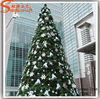 All kinds of large led artificial giant Christmas Tree light snowing christmas tree for decoration