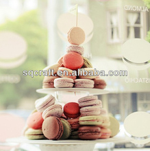 Artificial macaron cakes made in China / High quality fake food model / Replica food for display