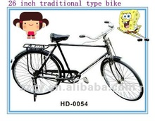 28 inch traditional type utility bicycle for adult