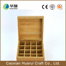 latest design promotional storage box essential oil wood box