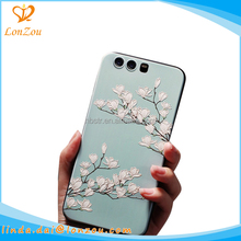 Flower china phone case manufacturer beautiful figure 5.2 inch phone accessories mobile case cover