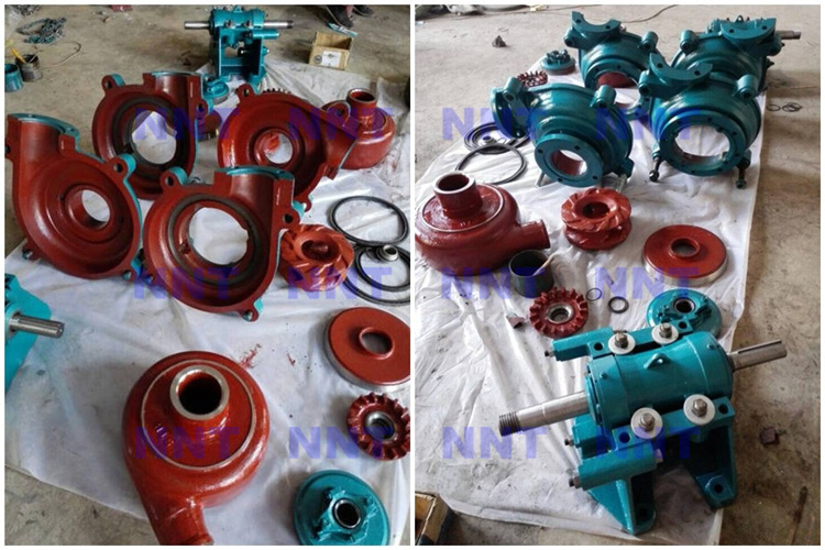 Standard slurry pump spare parts and OEM slurry pump parts