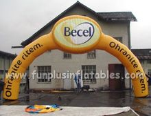inflatable start/finish line arch P1001