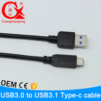 Excellent quality cooper material usb flash drive 3.0 to usb 3.1 type c usb c type connector