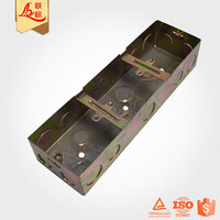 Durable Wall Mount Metal Ceiling Electrical Cable Junction Box