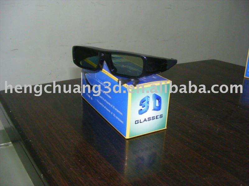 active shutter 3d home theatre glasses personal cinema 3d glasses