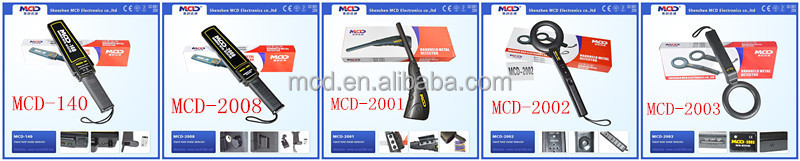 Hand Held Metal Detector Price/Secure Wand Hand-held Metal Detector/Handle Detector MCD-3003BB1