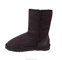 Unisex Sheepskin Short Boots Men's Size