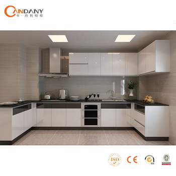 Candany modern lacquer kitchen cabinet,aluminium composite panel ...