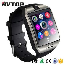 Factory Price GSM BLE3.0 Smart Watch Q18 VS DZ09 GT08 for IOS Android