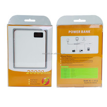 The new arrival quickly charge built-in data line 20000mah power bank