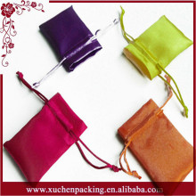 Super Quality Low Price Fashionable Colored Satin Bags for Weddings