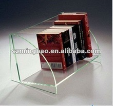 acrylic book holder/book stand