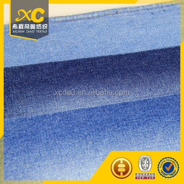 acid wash women denim jeans fabric made in china