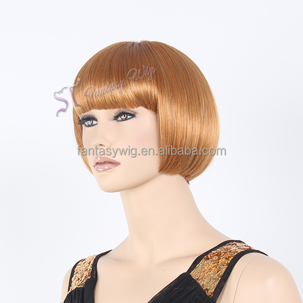 Guangzhou Fantasywig Hair Products Wholesale Cheap Short Bob Synthetic Wig
