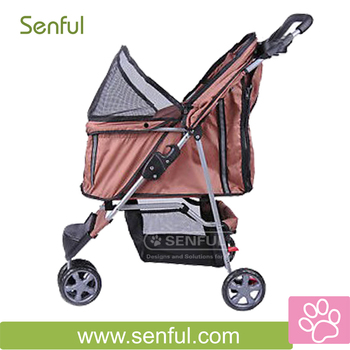 Pet strollers Pet trolley for dogs and animals
