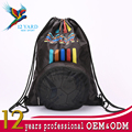 Latest style sublimation leisure drawstring backpack for sport training