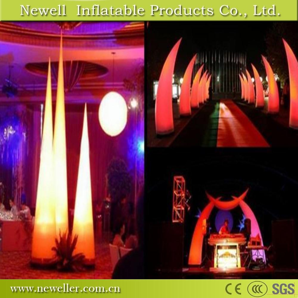 Sell Well elephant tusk inflatable lightings for your choice