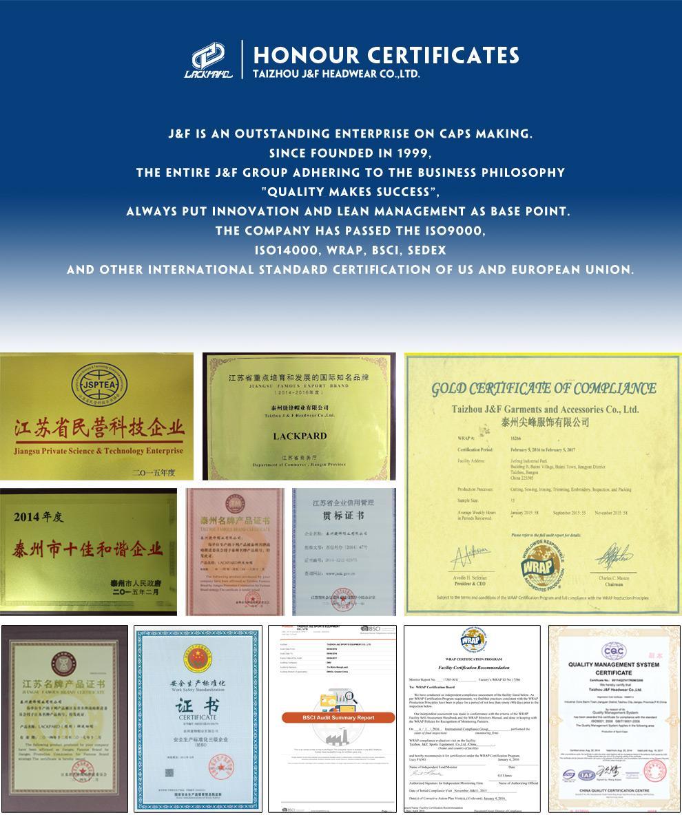 Taizhou Jf Headwear Co Ltd Sport Caps