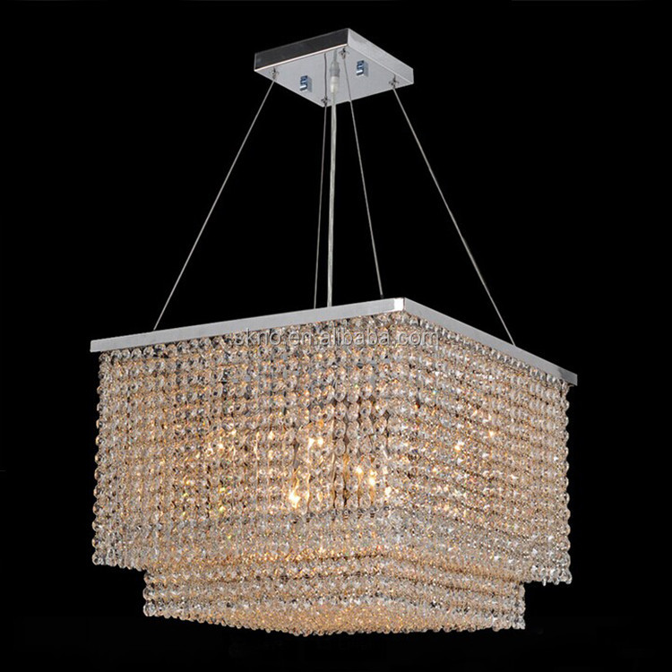Crystal Drops for Chandeliers Square Modern Crystal Chandelier 71061