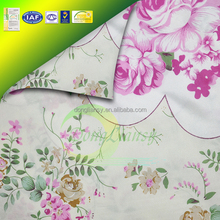china supplier 100% polyester lining fabric for mattress