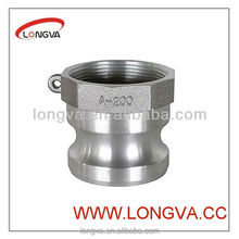 stainless steel cam and groove hose fitting type A