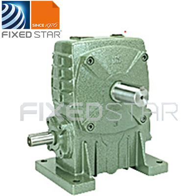 FIXEDSTAR Single Worm Gear Box and Worm Gear Speed Reducer