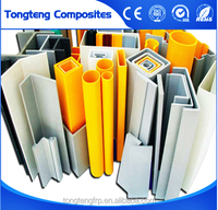 High strength and light weight, corrosion and fire resistant FRP Profiles passed by SGS and ROHS