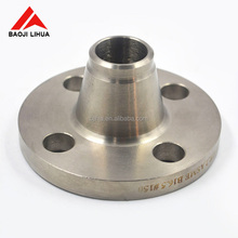 Gr7 Gr12 Forged Titanium Flange Welding for Pipe Connection