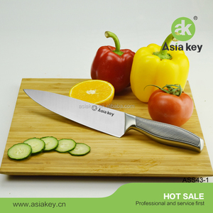 "Hollow Handle 8""Chef Kitchen Knife Stainless Steel For Sale"