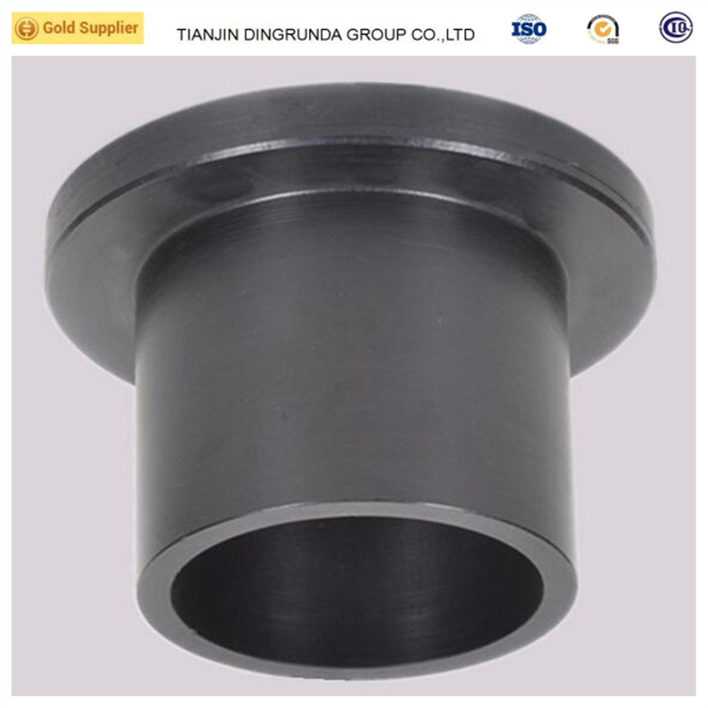 HDPE pipe fittings HDPE stub end HDPE flanges for flange connection