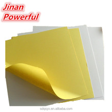 lightweight pvc foam double sided adhesive sheets/ pvc sheet for photo album