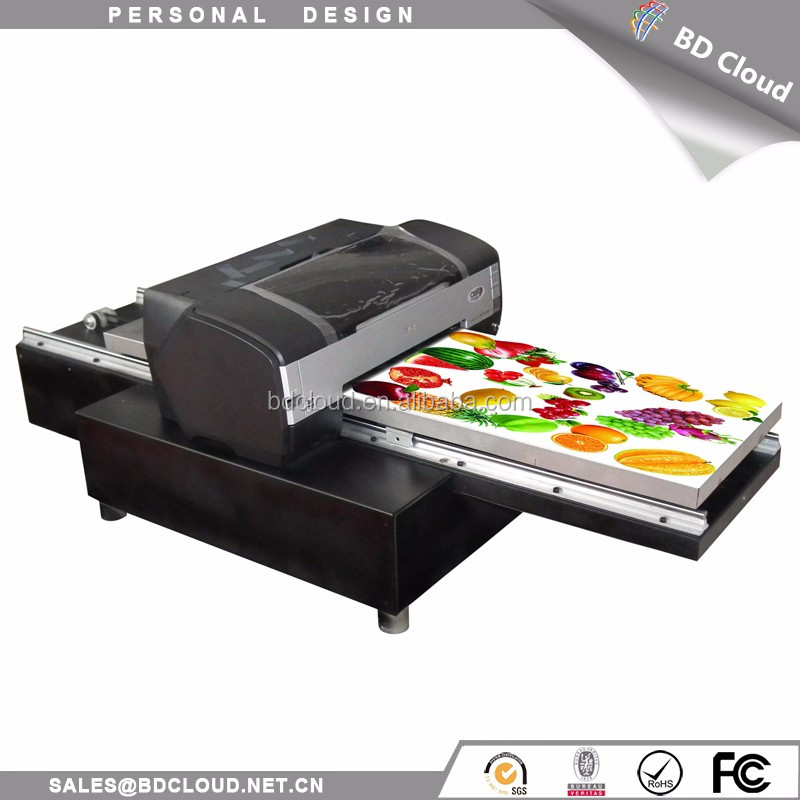 Eco solvent flatbed a3 cheap direct to garment printer