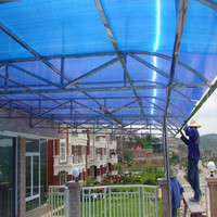 for roofs polycarbonate PC enduranced solid sheets for 10years guarantee