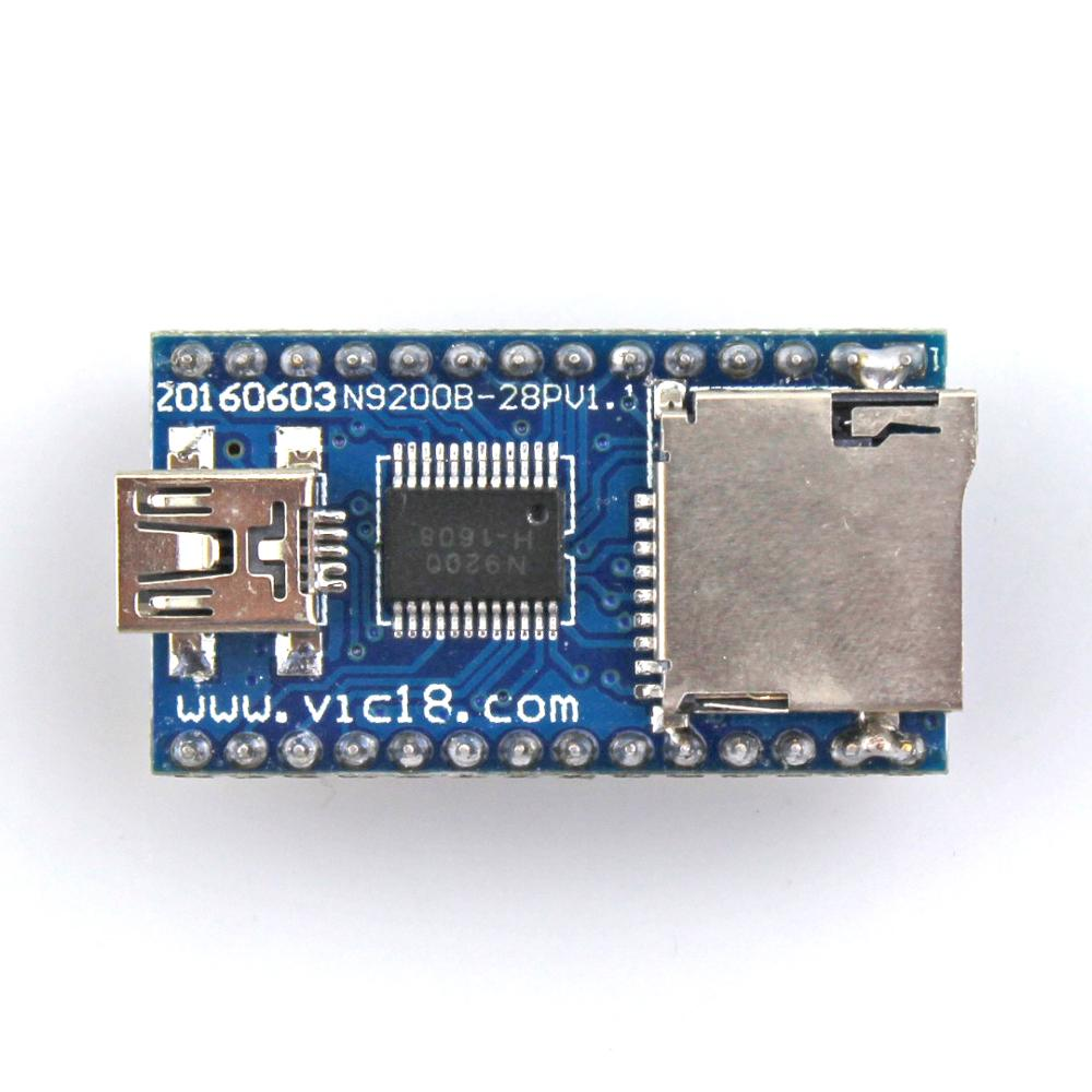 12V USB recordable MP3 sound module with TF card port