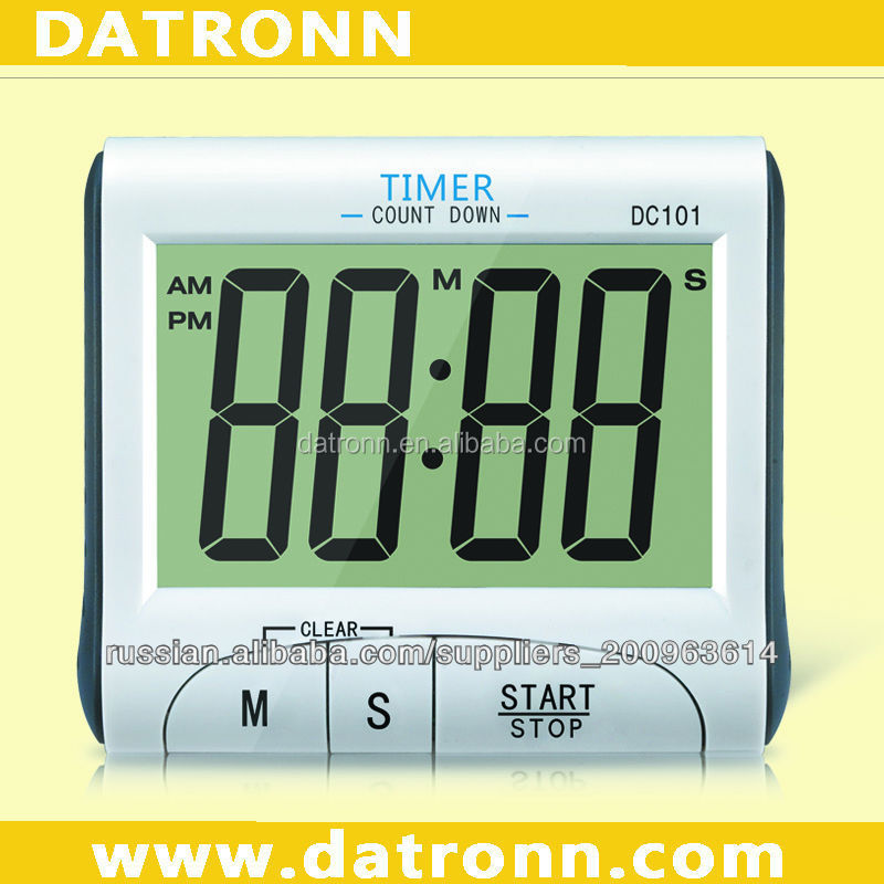 Promotion digital clock countdown kitchen timer DC101 with nice shape